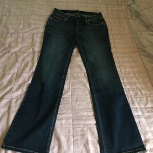 EUC WHBM boot cut jeans